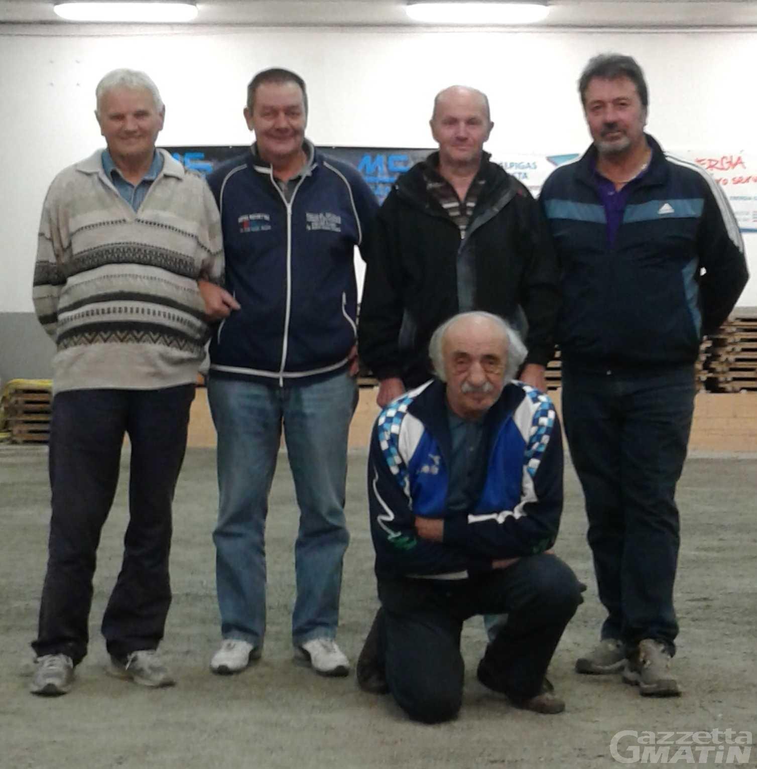 Petanque: Elso Tartin vince a Gignod