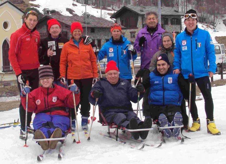 Giornata sulla neve per i disabili a causa di infortuni sul lavoro