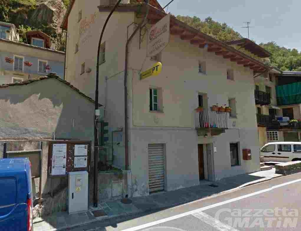 Poste Italiane: ufficio postale di Bard chiuso fino a fine giugno