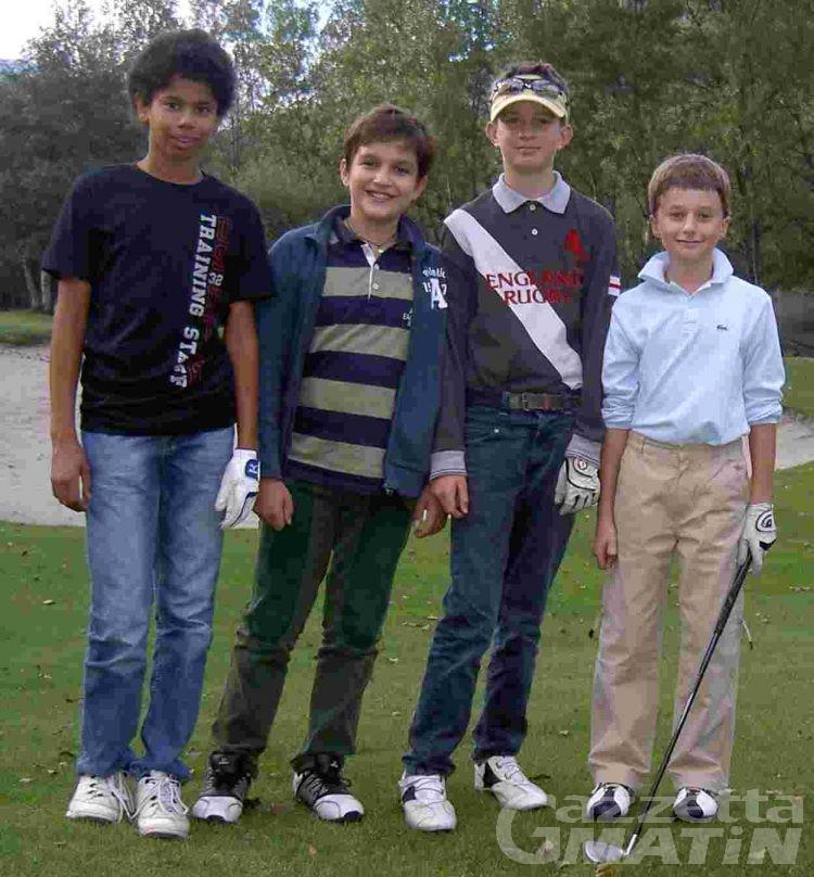 Golf: quattro nuovi brevetti al Les Iles
