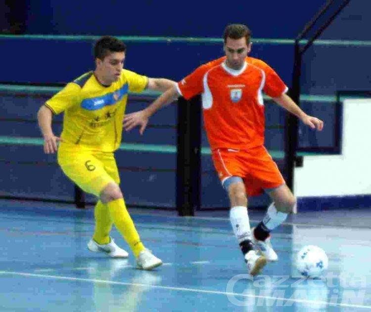 Calcio a 5: l'Aosta sbanca Genova allo scadere