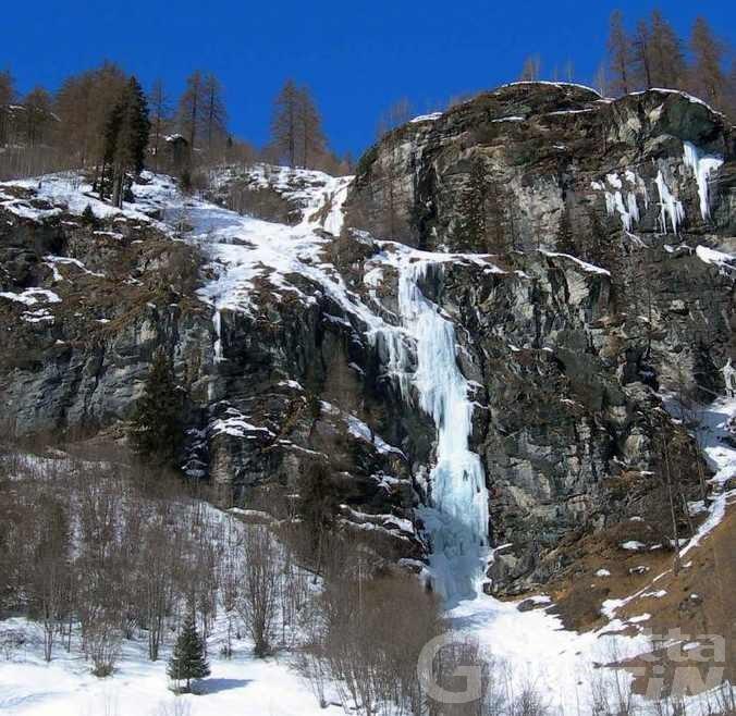 Dramma sulla cascata di ghiaccio: quattro morti a Gressoney