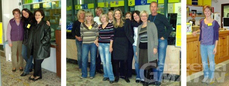 Poste italiane: premiati di uffici di Aosta, Quart e La Salle