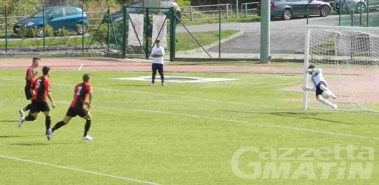 Calcio: perdono Aygreville e P.D.H.A., solo un pari per lo Charvensod