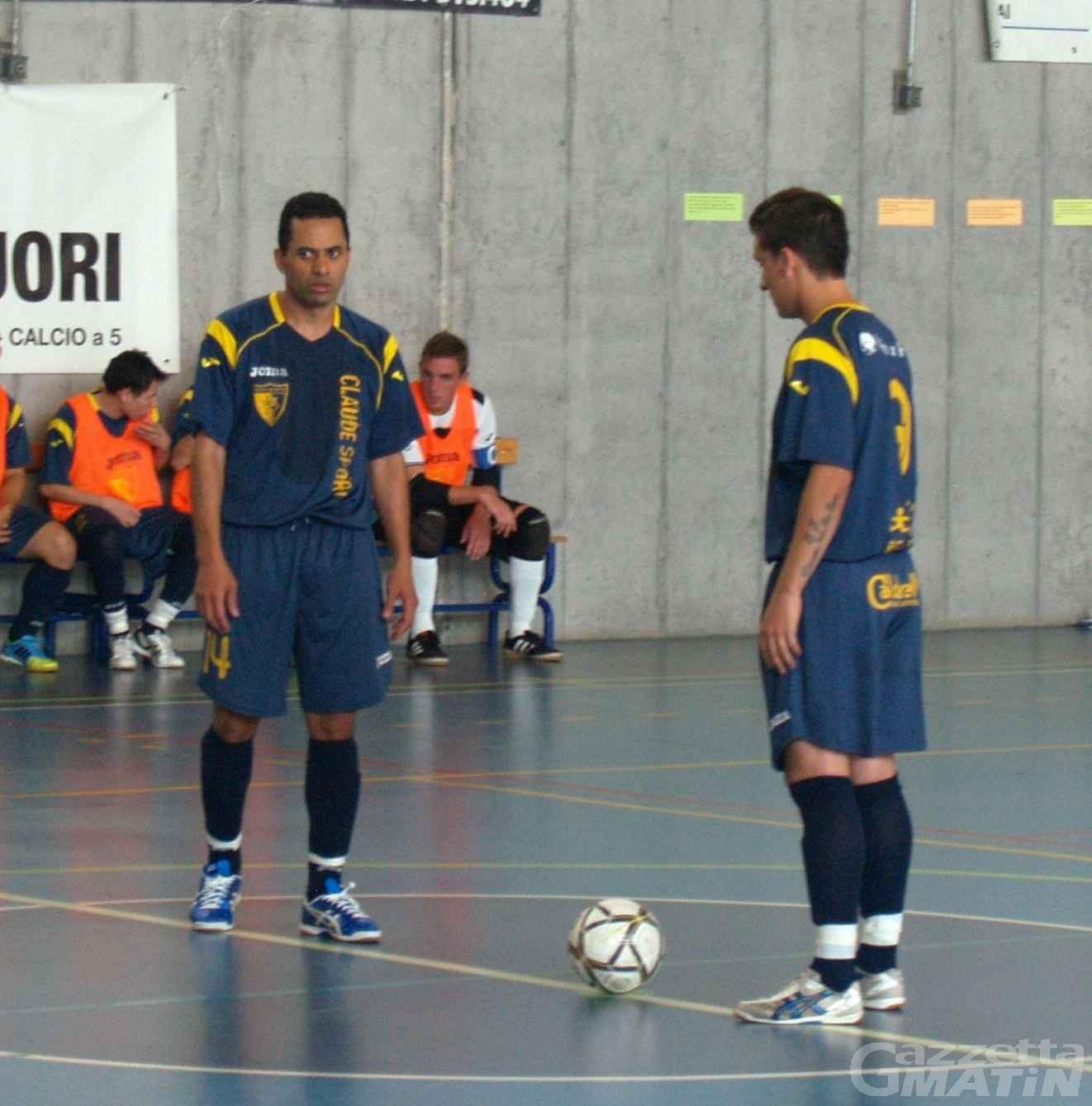 Calcio a 5: bene l'Aosta, l'Ayma ko in Sardegna