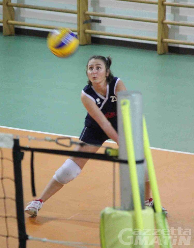 Volley: la Cogne Acciai Speciali battuta nel recupero