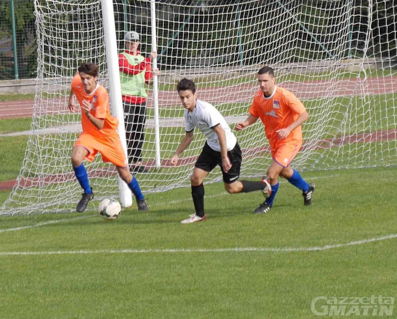 Calcio: una doppietta di Turato fa felice l'Aygreville