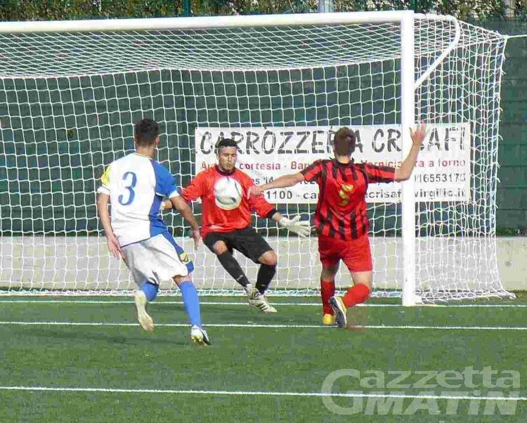 Calcio: l'Aygreville vince anche a Gassino