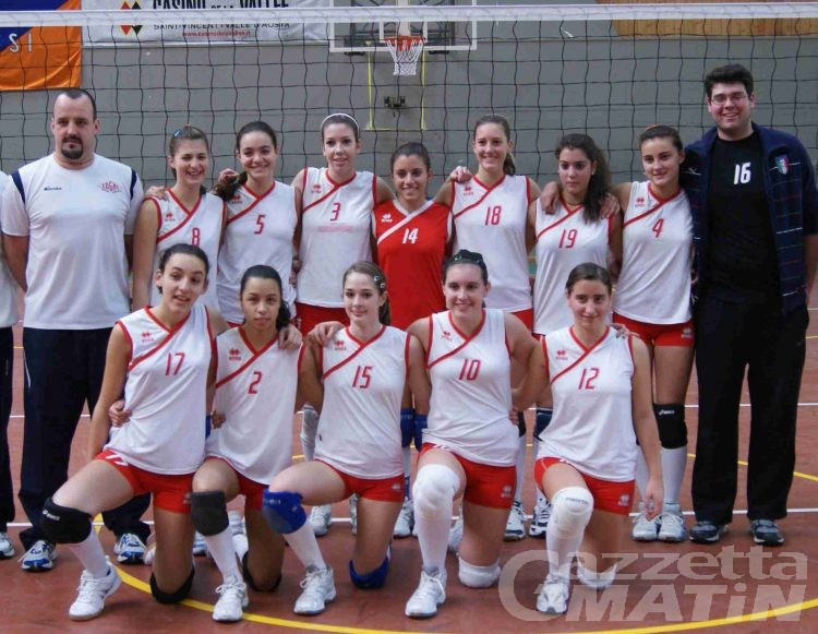Volley: in C cade la Cogne, il derby di D al Fenusma