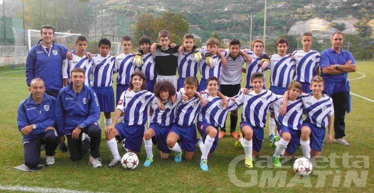 Calcio giovanile: partono bene St-Vincent Châtillon, Aygreville, Fenusma, Evançon, Charva e VdA