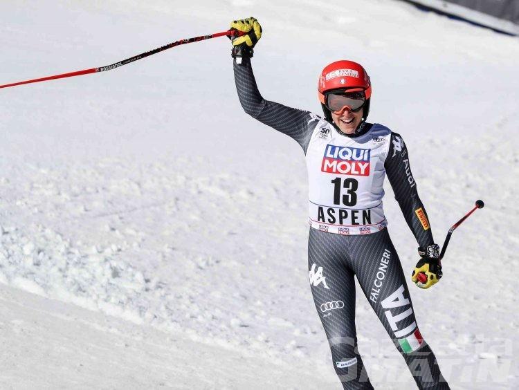 Sci alpino: Federica Brignone terza ad Aspen in superG