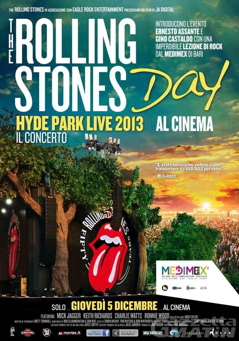 Cinema, il Rolling Stones day in due sale valdostane