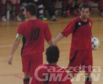 Calcio a 5: le valdostane dominano la sfida con le liguri