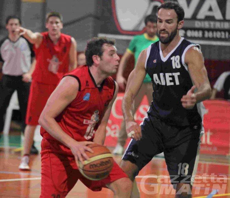 Basket: la Moretti crolla nel finale a Chivasso