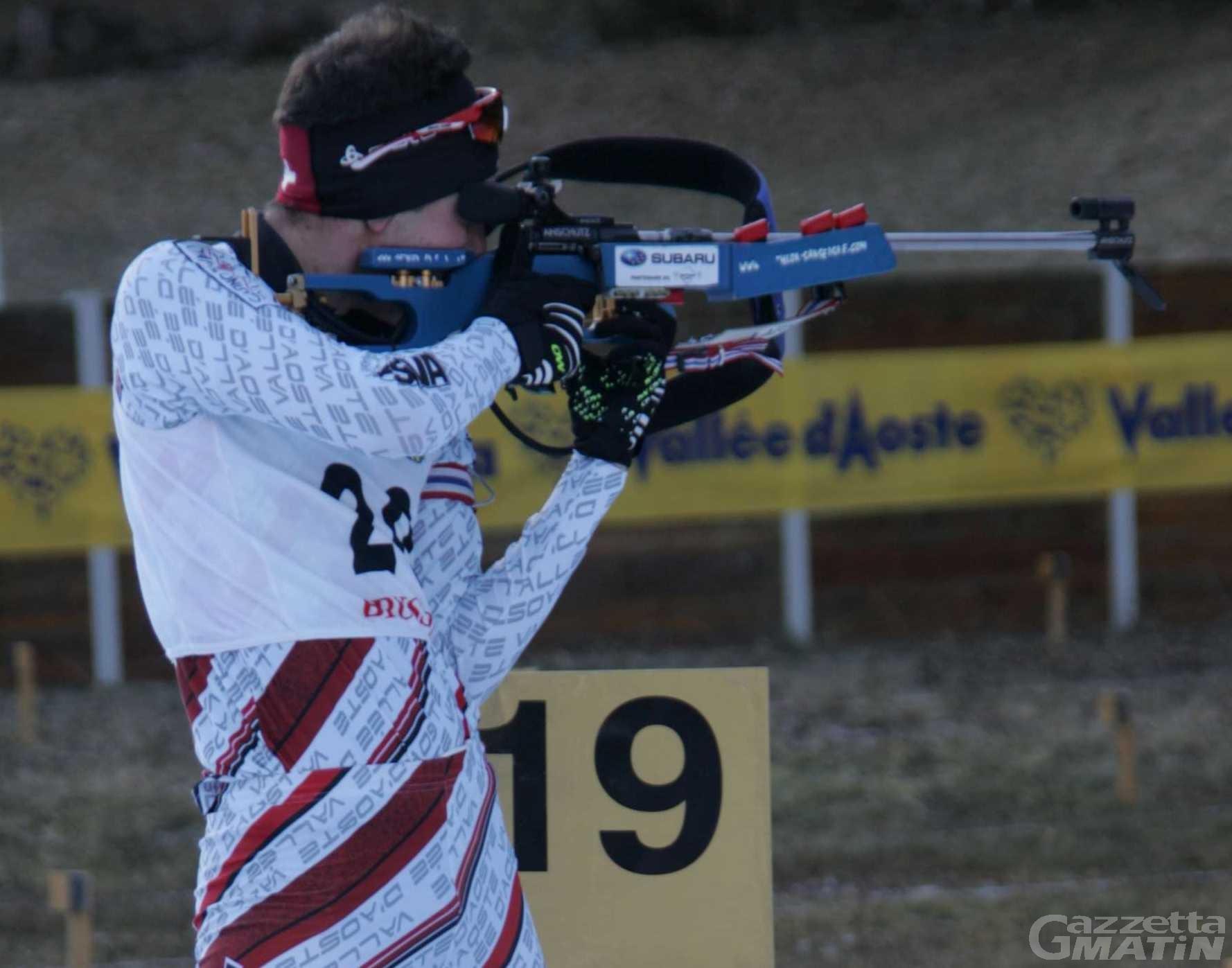 Biathlon: la Valle detta legge a Brusson