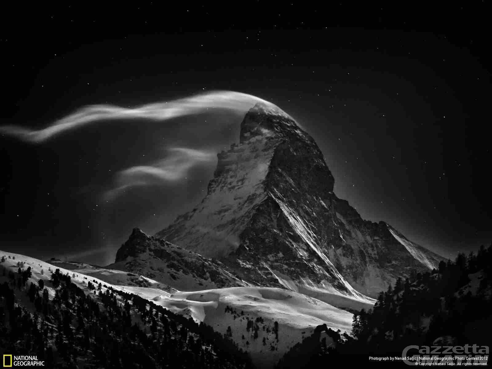 Uno scatto del Cervino tra i vincitori del contest del National Geographic