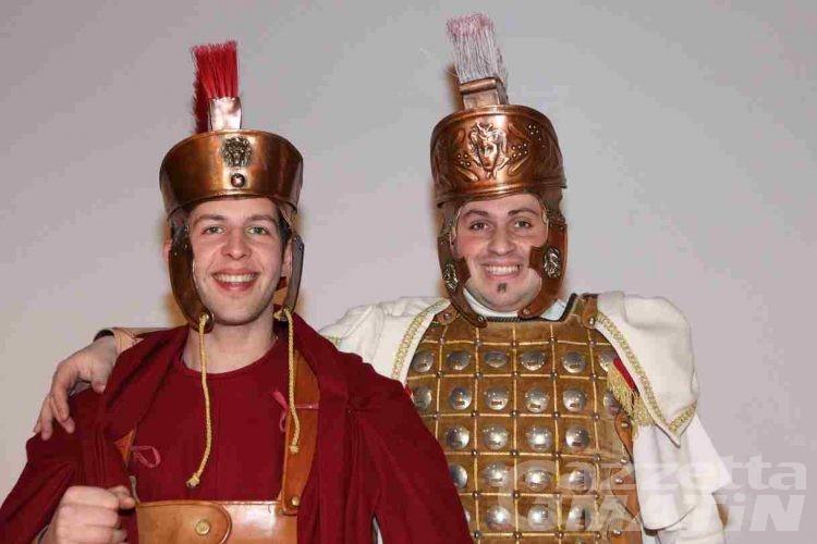 Pont-Saint-Martin: svelati i personaggi maschili del 102° Carnevale
