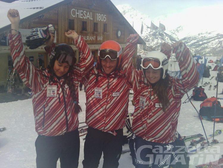 Sci alpino, Albano e Zazzaro d'oro a Bardonecchia
