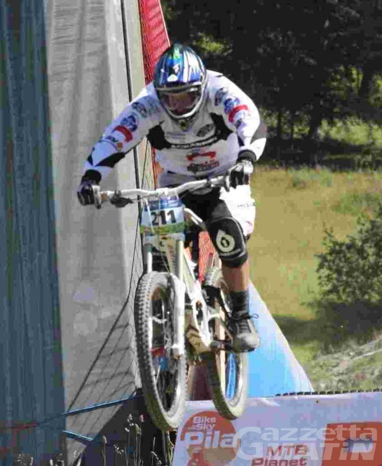 MTB: dominio Pila Black Arrows a Prali