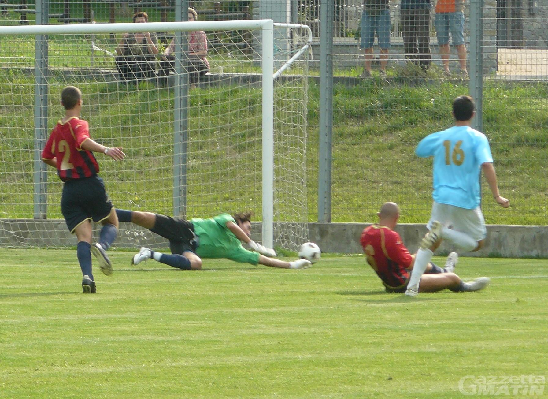 Calcio Juniores: pari dell'Aygre, lo Charva ancora ko
