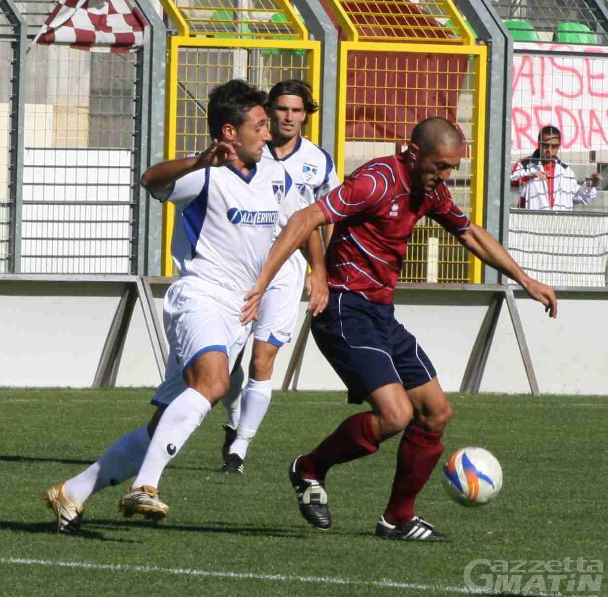 Calcio: il St-Chri VdA si fa raggiungere a Carate