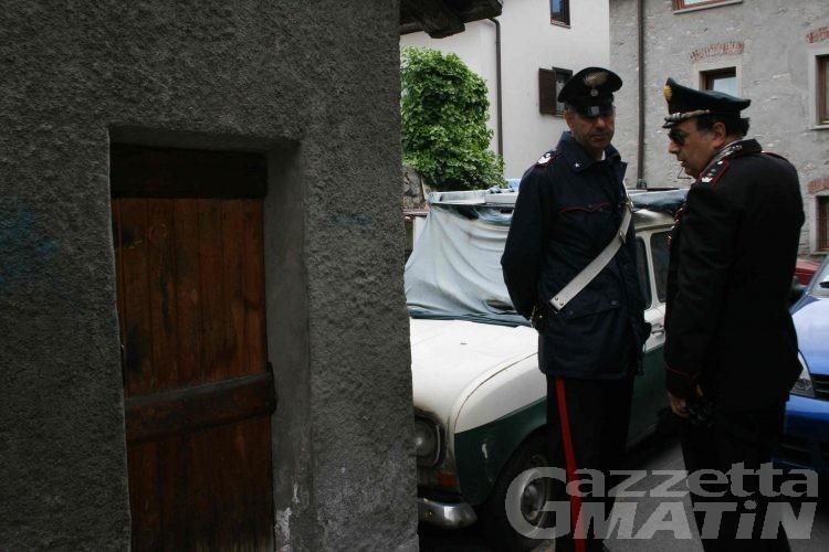 Carabinieri: aumentano i reati predatori