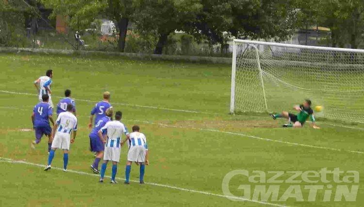 Calcio: il Real Sarre vola in Coppa Piemonte