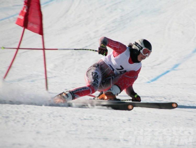 Sci alpino: Corinne Suter vince il gigante di Valtournenche