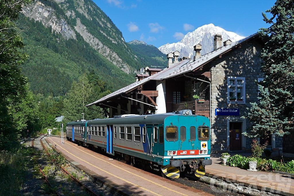 Ferrovia: sopralluogo Rfi sulla tratta Aosta-Arvier in vista della riapertura