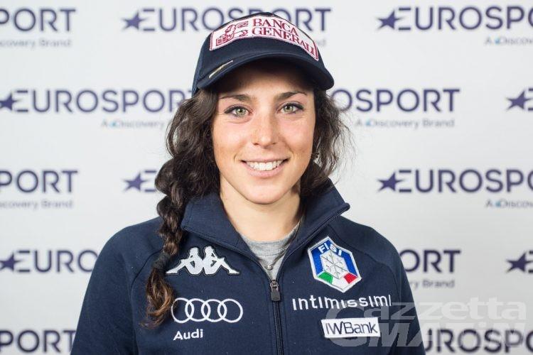 """Coni: """"In salotto coi campioni"""" con Federica Brignone"""