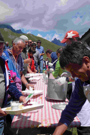Alpages Ouverts: Alpage Champillon a Doues - Foto AREV