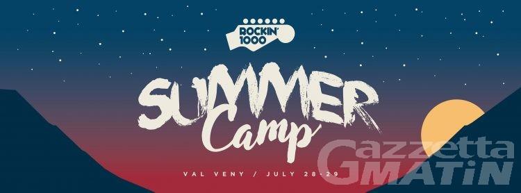 Rockin'1000, Cesareo al Summer Camp a Courmayeur