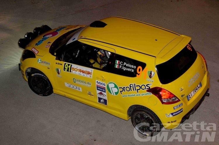 Rally: Corrado Peloso in chiaroscuro all'Isola d'Elba