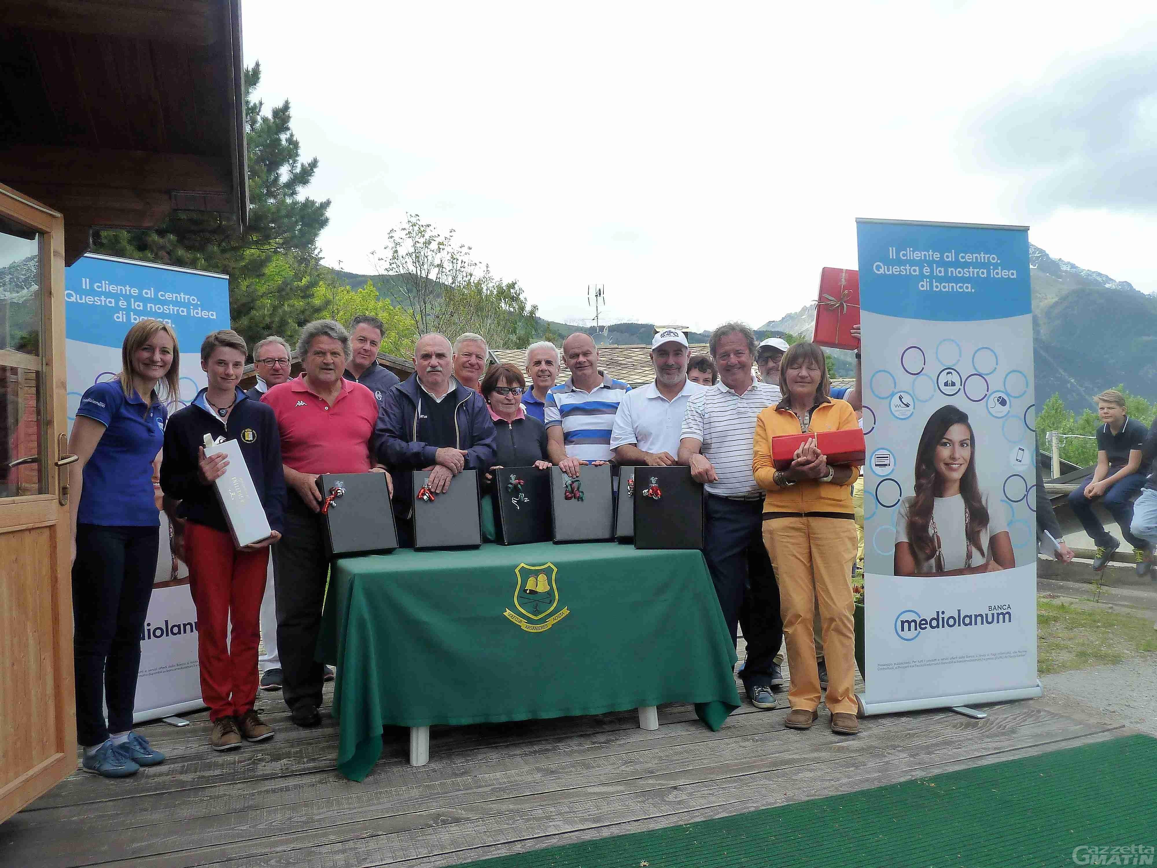 Golf: Nitri e Fiabane vincono all'Arsanières