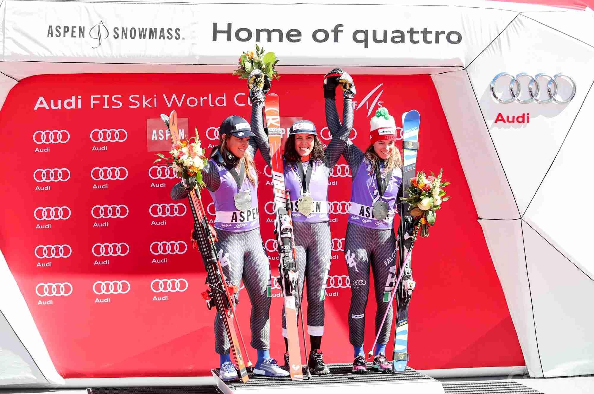 Sci alpino: Brignone, Bassino e Goggia in ritiro a Cervinia