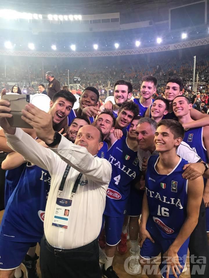 Basket: il bellissimo argento iridato di Federico Massone
