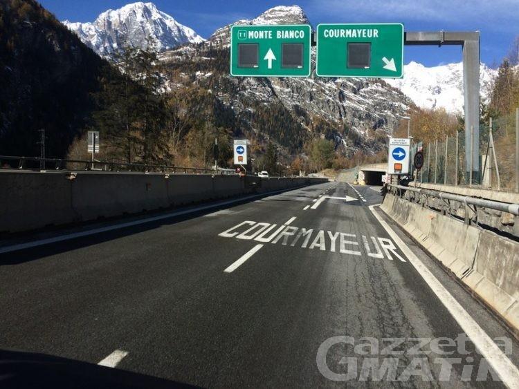 Aosta-Courmayeur, la Rav chiede ulteriore aumento sui pedaggi