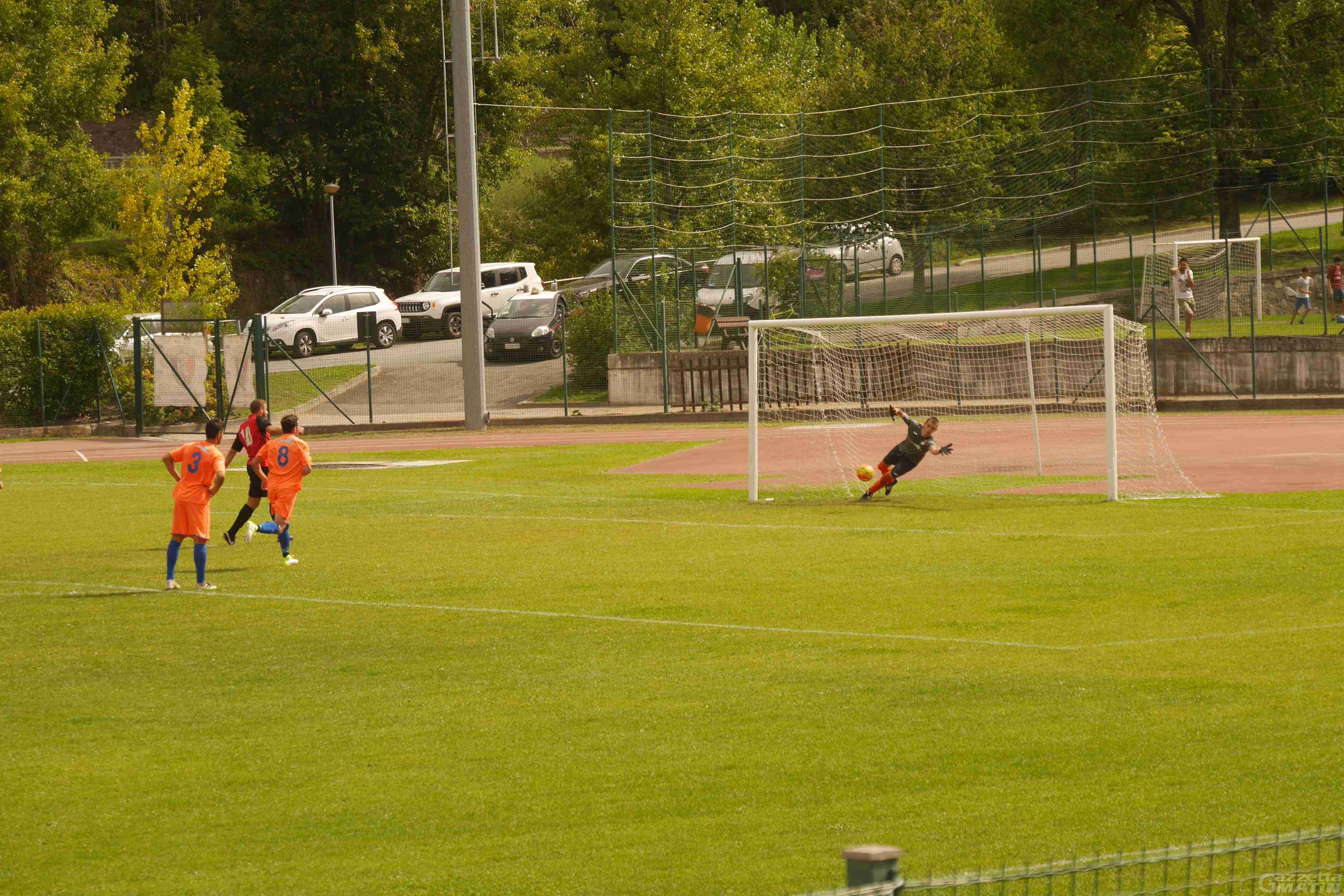 Calcio: l'Aygreville vince il derby di Coppa Italia