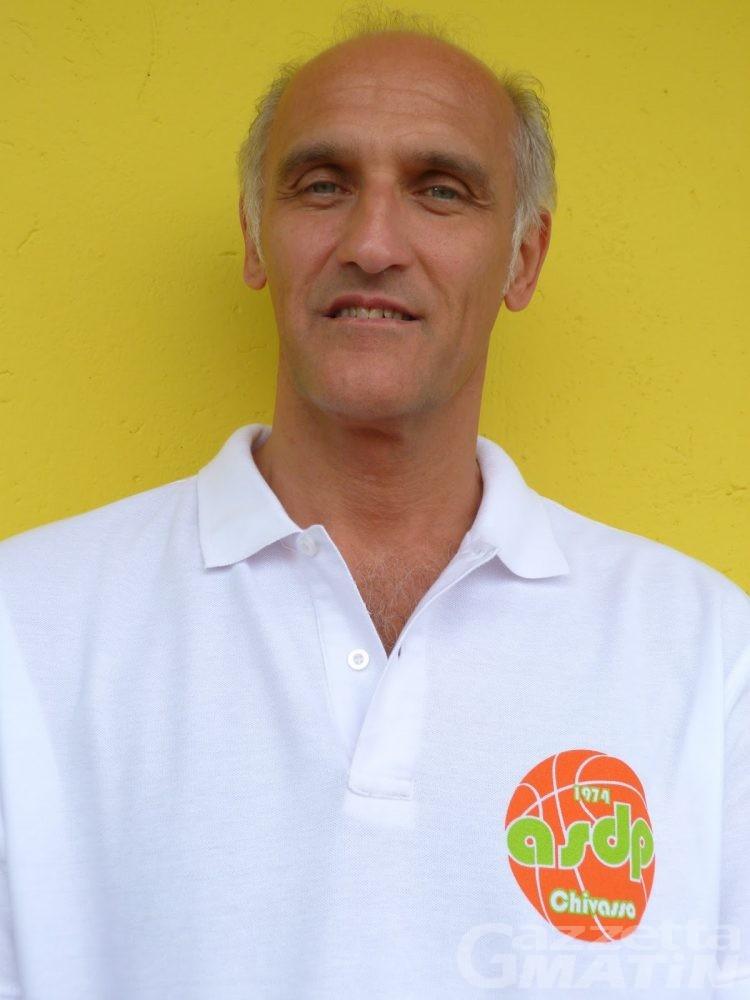 Basket: Mario Tardito nuovo coach dello Chez Drink