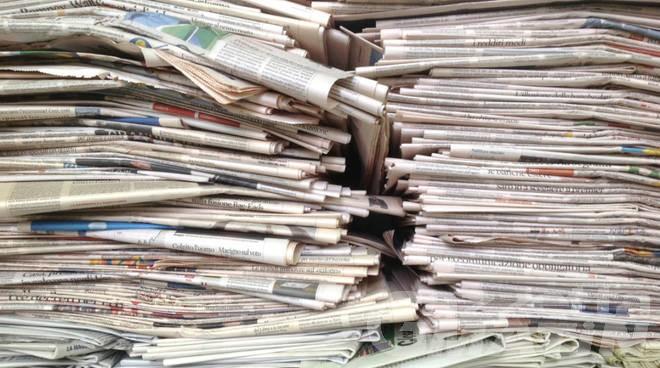 Rifiuti: la raccolta di carta e cartone vale 625 mila euro