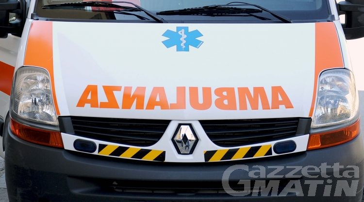 Incidente: pedone investito sulle strisce ad Aosta