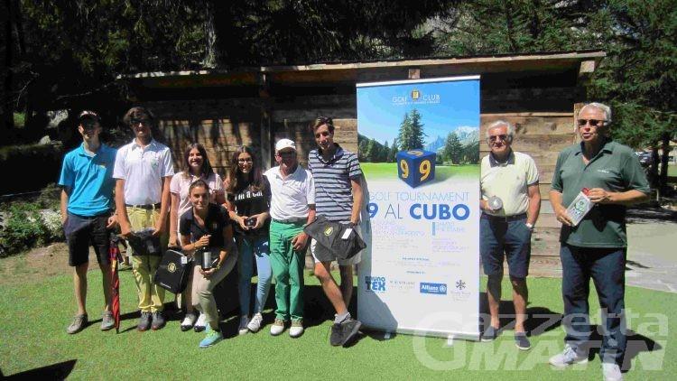 Golf: Nicolò Martini vince a Courmayeur