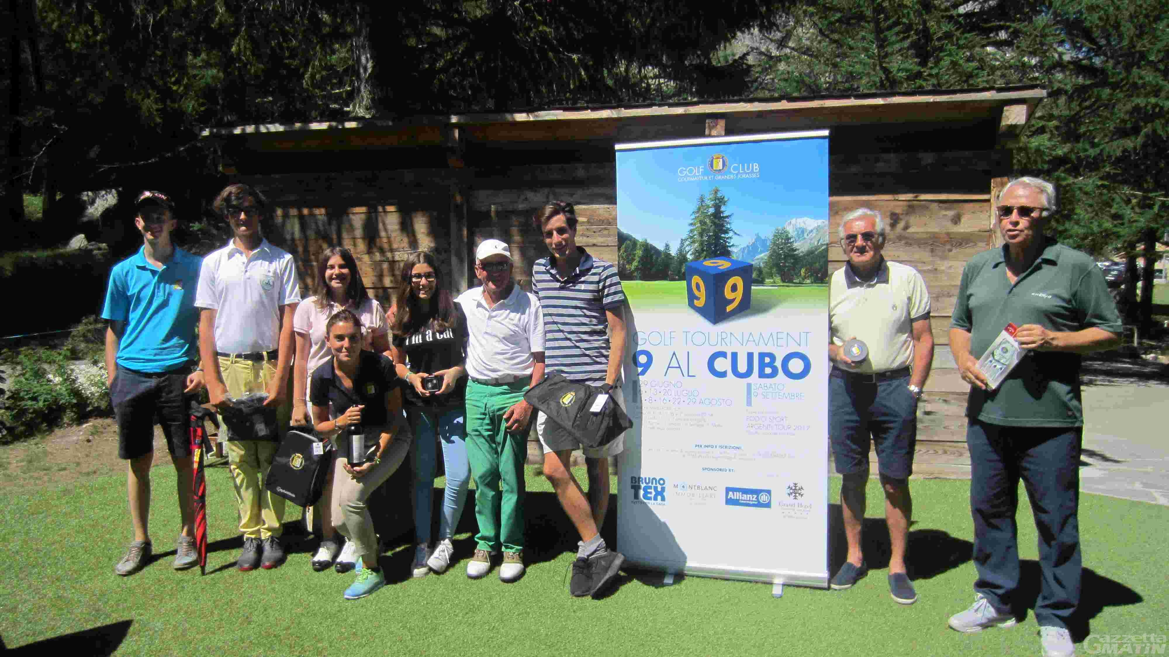 Golf: Nicolò Martini vince a Courmayeur