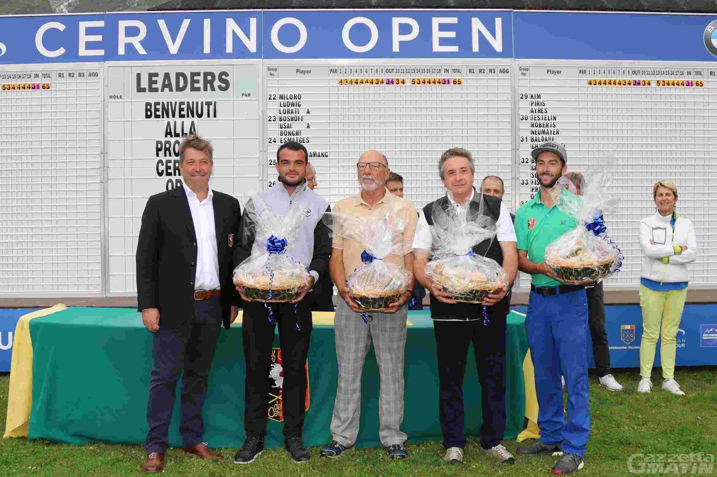 Golf: il Team Radureau vince la Pro Am di Cervinia