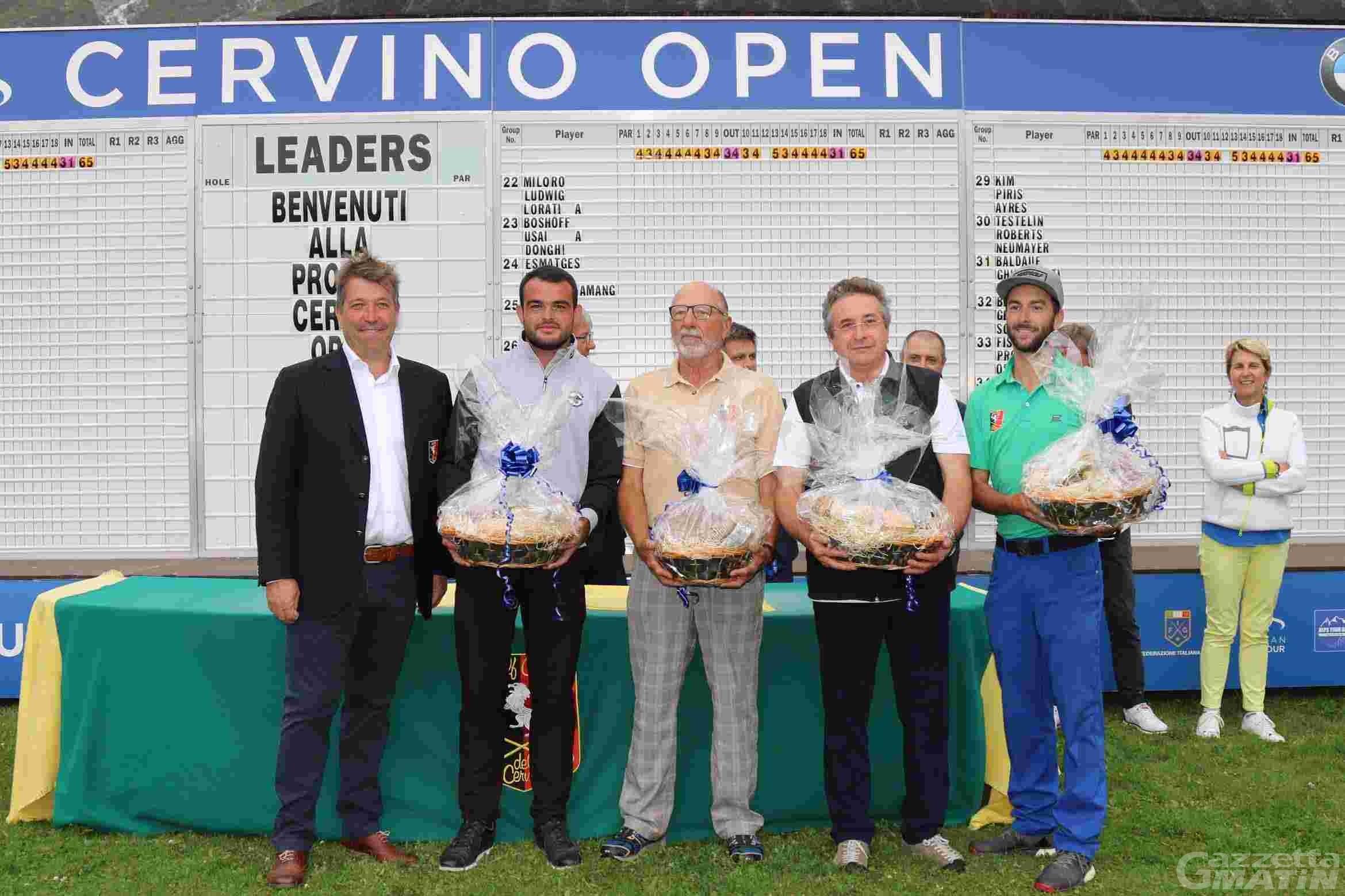 Golf: il Team Radureau vince la Pro Am di Cervinia