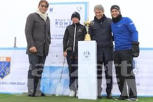 Golf: la Ryder Cup ha fatto tappa sul Monte Bianco