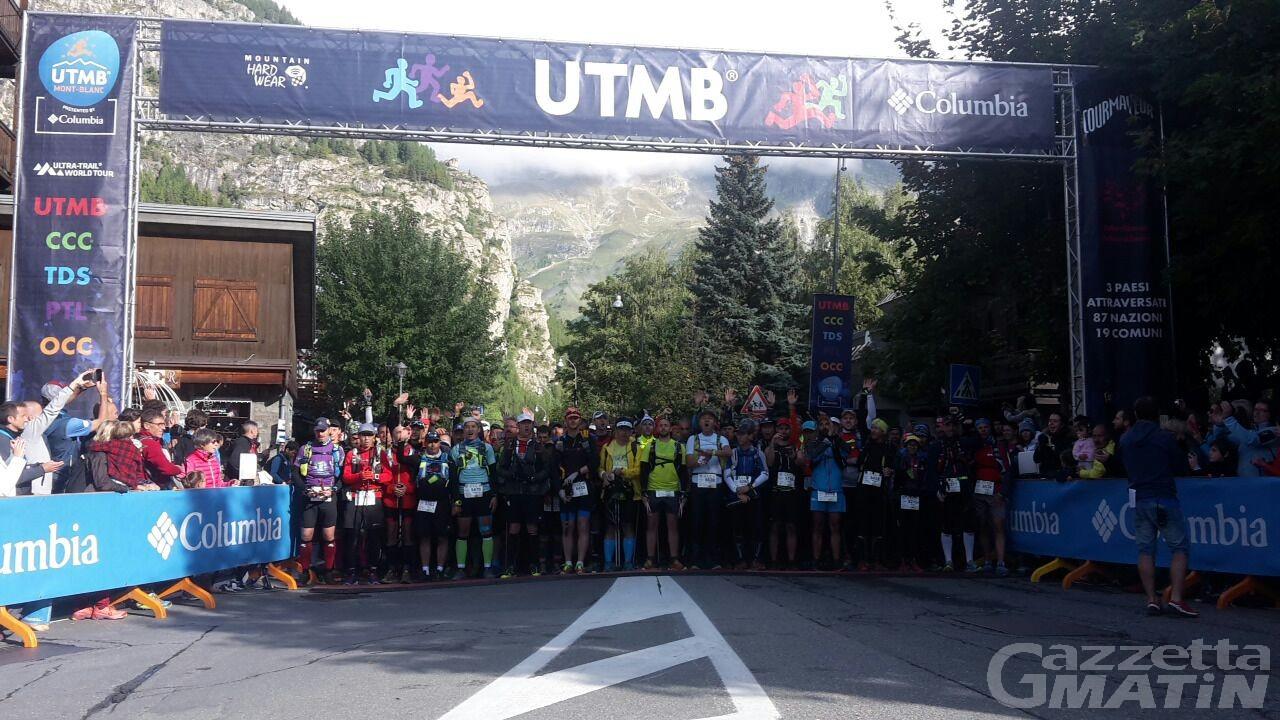 Ultra trail: partita la Courmayeur-Champex-Chamonix