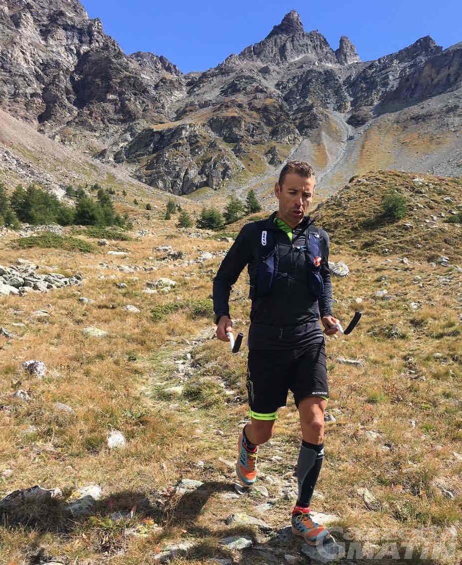 Tor Géants: Franco Collé verso il traguardo a tempo di record