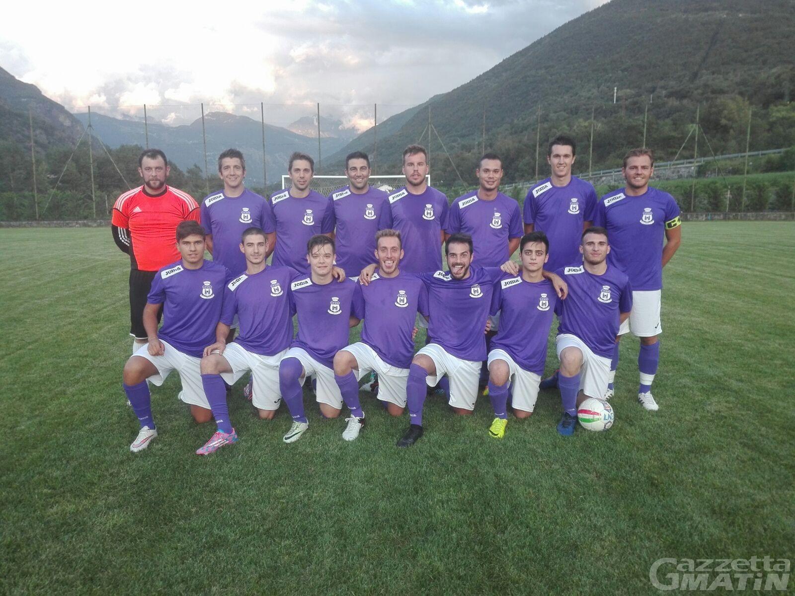 Calcio: Grand Paradis e Quart vincono in Coppa Piemonte