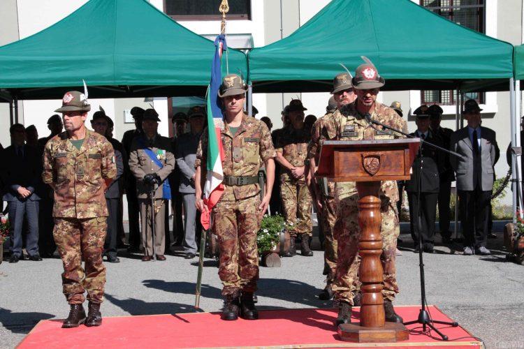Centro Addestramento Alpino, cambio al comando tra i generali Giannuzzi e Radizza